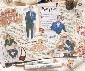 aesthetic, journal, and school image