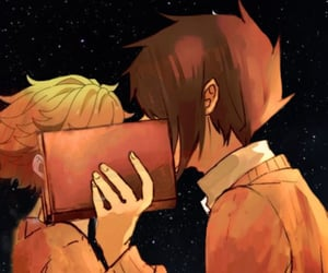 anime, emma, and OMG image