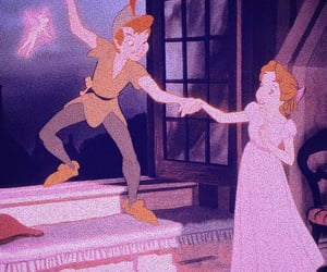 aesthetic, disney, and tinkerbell image