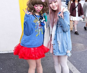 Harajuku, japan, and tokyo fashion image