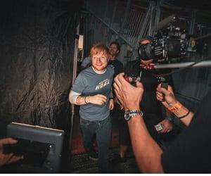 teddy, instagram, and ed sheeran image