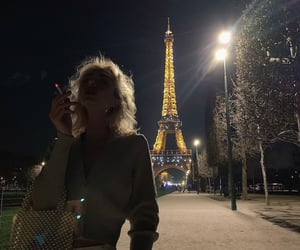 aesthetics, discover, and eiffeltower image