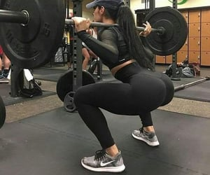 booty, nike, and body goals image