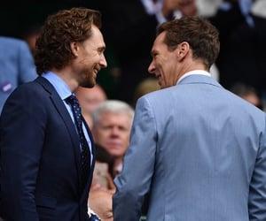 loki, tom hiddleston, and benedict cumberbatch image