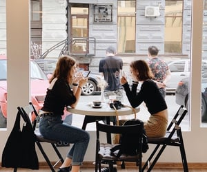 beautiful, cafe, and coffee shop image