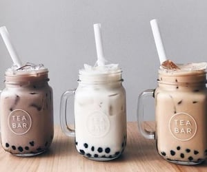 asian, tea, and boba image