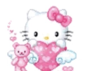 bling, hello kitty, and icon image