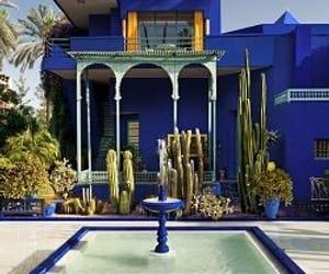 marrakech, garden, and morocco image