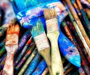 blue, colour, and draw image