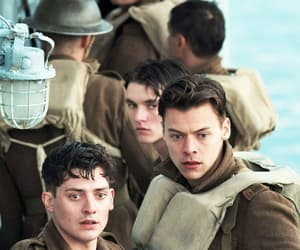 Harry Styles, dunkirk, and movie image