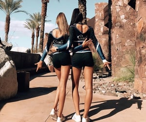 cali, summer, and uniform image