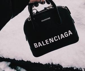 Balenciaga, fashion, and black image