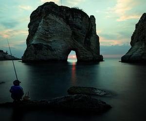 beautiful, Beirut, and dark image
