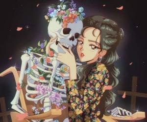 aesthetic, anime, and kpop image