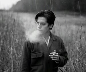 cole sprouse, riverdale, and smoking image