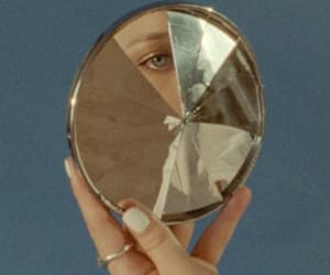 aesthetic, mirror, and vintage image