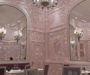 pink, glitter, and luxury image