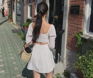 asian, beige, and girl image