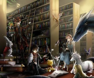 books, cross-over, and fantasy image