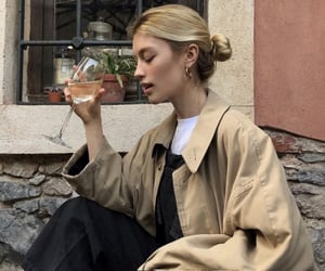 blonde, afternoon, and casual style image