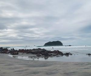 beach, new zealand, and ocean image