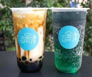 beverage, boba, and bubble tea image