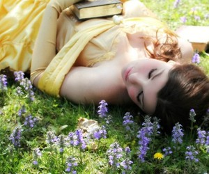belle, disney, and cosplay image