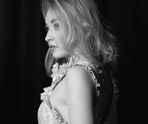 beauty, black, and black & white image
