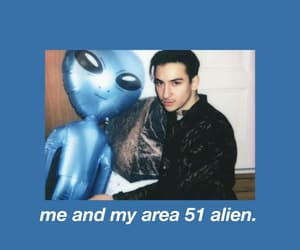 alien, area 51, and blue image