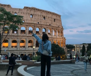 blogger, colosseum, and french image