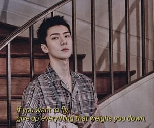 exo, quotes, and sehun image