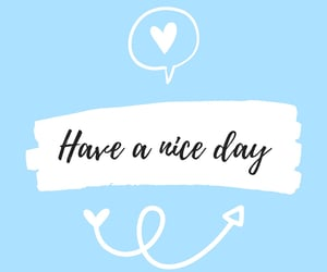 aesthetic, blue, and happy day image