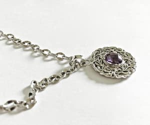 amethyst, stone, and bridal jewelry image