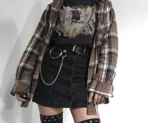 90s, fashion, and goth image