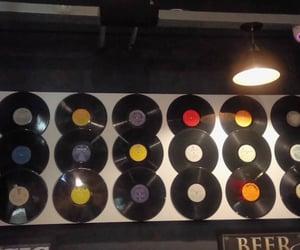 bar, vinil, and disco image