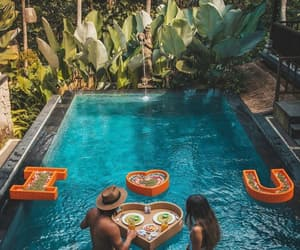 bali, blogger, and couple image