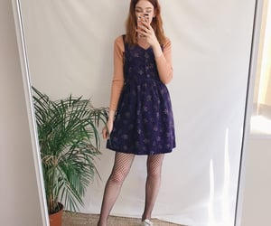 artsy, dress, and vintage clothes image