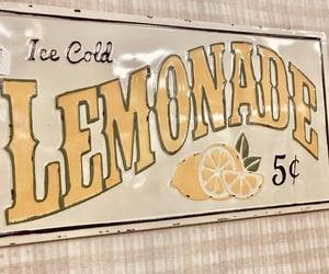 aesthetic, lemonade, and yellow image