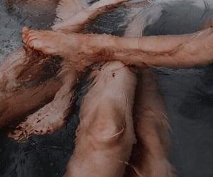 bath, photography, and tan image