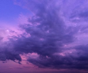 clouds, grey, and purple image