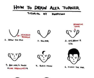 alex turner, draw, and arctic monkeys image