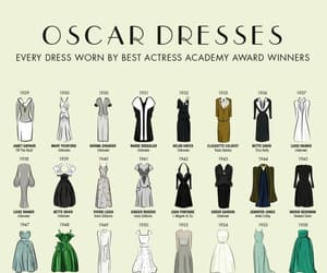 Academy Awards, best actress, and dresses image