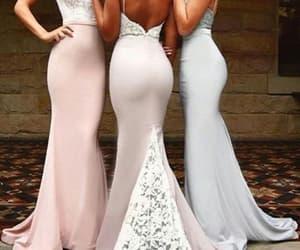 bridesmaid dress, mermaid bridesmaid dress, and bridesmaid dresses image