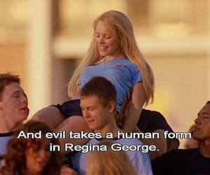 mean girls, regina george, and movie image