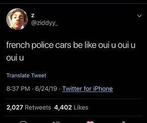 cops, french, and funny image