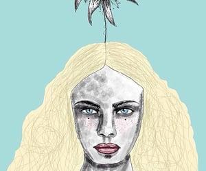 artistic, girl, and desenho image