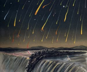astronomy, books, and vintage illustration image