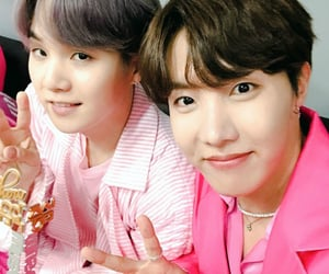 bts, yoongi, and jhope image