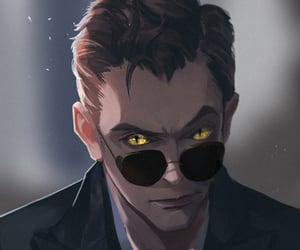 crowley and good omens image