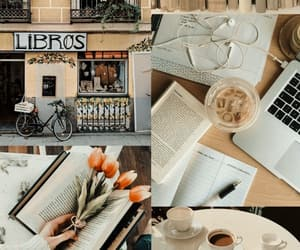 books, bookstore, and cafe image